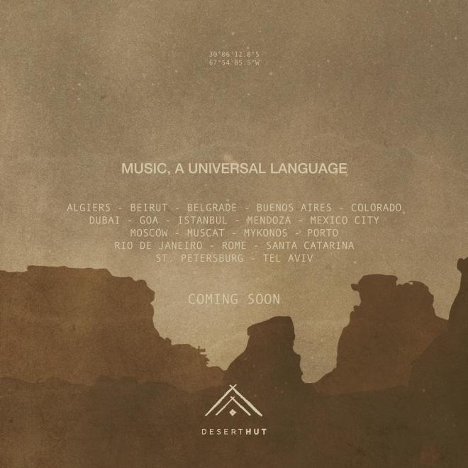 "DESERT HUT LANZARÁ ""MUSIC, A UNIVERSAL LANGUAGE"""