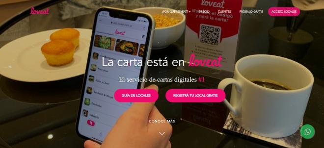 """""""LOVEAT"""", EL SERVICIO DE CARTA DIGITAL"""