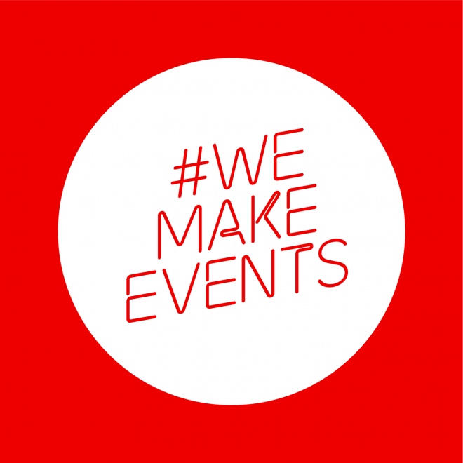 HOY APOYAMOS A WE MAKE EVENTS EN EL DÍA DE ACCIÓN GLOBAL